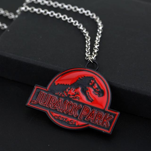 Кулон Мир Юрского периода / Jurassic park