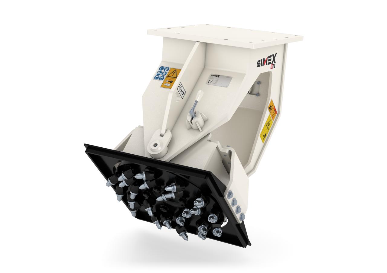 Шлифовальная машина Simex WG 40 для мини-экскаваторов и экскаваторов