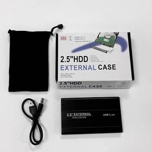 "Карман для 2.5"" HDD EXTERNAL CASE USB2.0 U25"