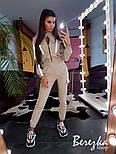 Женский комплект со светоотражающими вставками: брюки карго + бомбер (в расцветках), фото 9