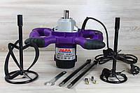 Миксер строительный AL-FA ALM23 : 2300 Вт | 2 мешалки