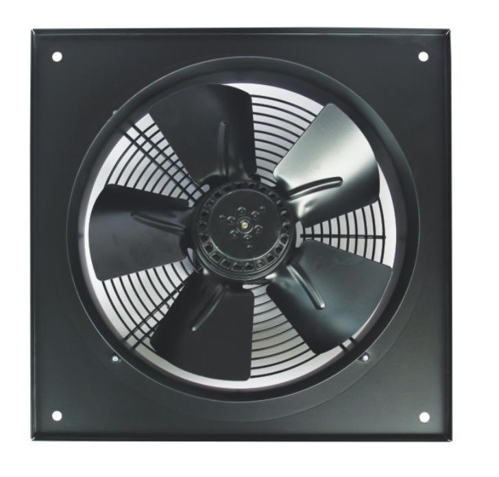 Осьовий вентилятор Турбовент Сигма 300 B/S з фланцем