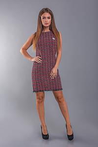"""Короткое облегающее платье-букле """"Brisbane"""" без рукавов (2 цвета)"""
