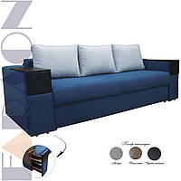 """Розкладний диван """"Кантрі з барами"""" (для щоденного сну, механізм єврокнижка, пружинний блок Боннель)"""