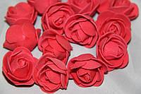 Роза  красная 2030-13-11  (мелкая)