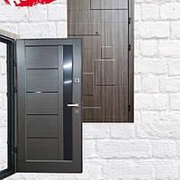 Дверь Уют ДУЭТ МДФ/Новый стиль Дуб кантри 860 мм