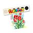 Набор акварельных красок Люкс 6 цветов, фото 2