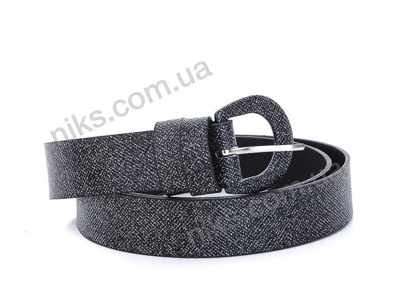 Ремень женский 3*112 (серый) WeLassie