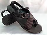 Стильні чоловічі сандалі Bertoni, фото 3