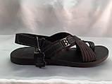 Стильні чоловічі сандалі Bertoni, фото 4