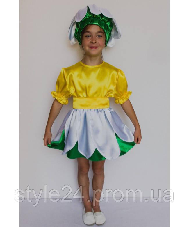 Карнавальний костюм Ромашка на ріст 95-120см