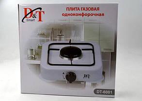 Газовый таганок на 1 конфорку D&T Smart 6001, фото 3