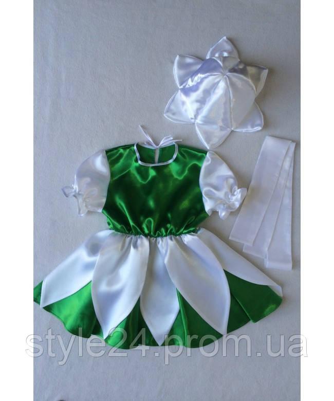 Карнавальний костюм Підсніжник на ріст 95-120см