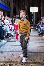 Дитячий пуловер для хлопчика Antonio Morato Італія MKSW00081 гірчичний