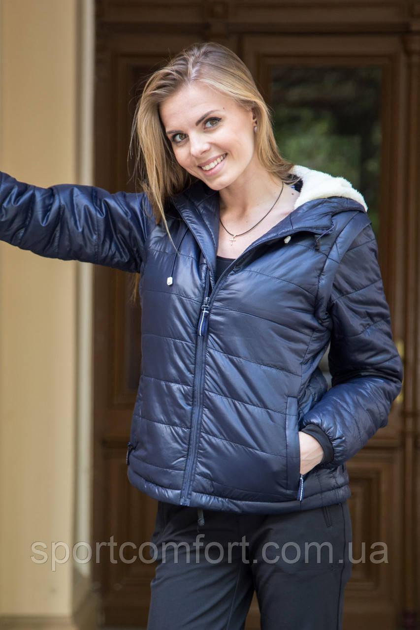 Куртка Freever женская  т.синяя 8117