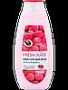 Гель для душу Litchi & Raspberry 400 мл Fresh Juice