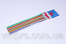 """Карандаши графитные пластиковые """"LeiLei"""" 20см, гибкие с ластиком (6 шт)"""