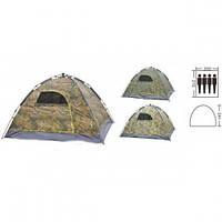 Палатка-автомат с автоматическим каркасом 4-х местная