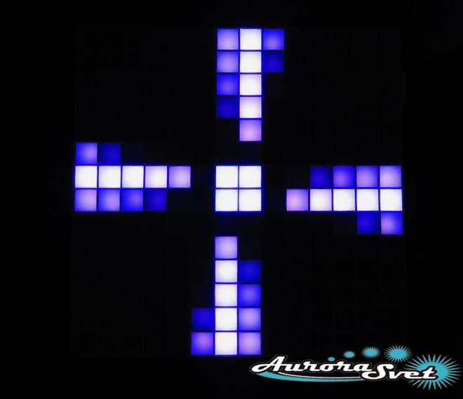 Светодиодная пиксельная панель настенная W-71-14*14-1