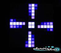 Светодиодная пиксельная панель настенная W-71-14*14-1, фото 1