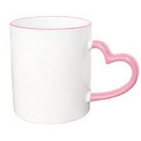 Чашка цветная LOVE Розовая