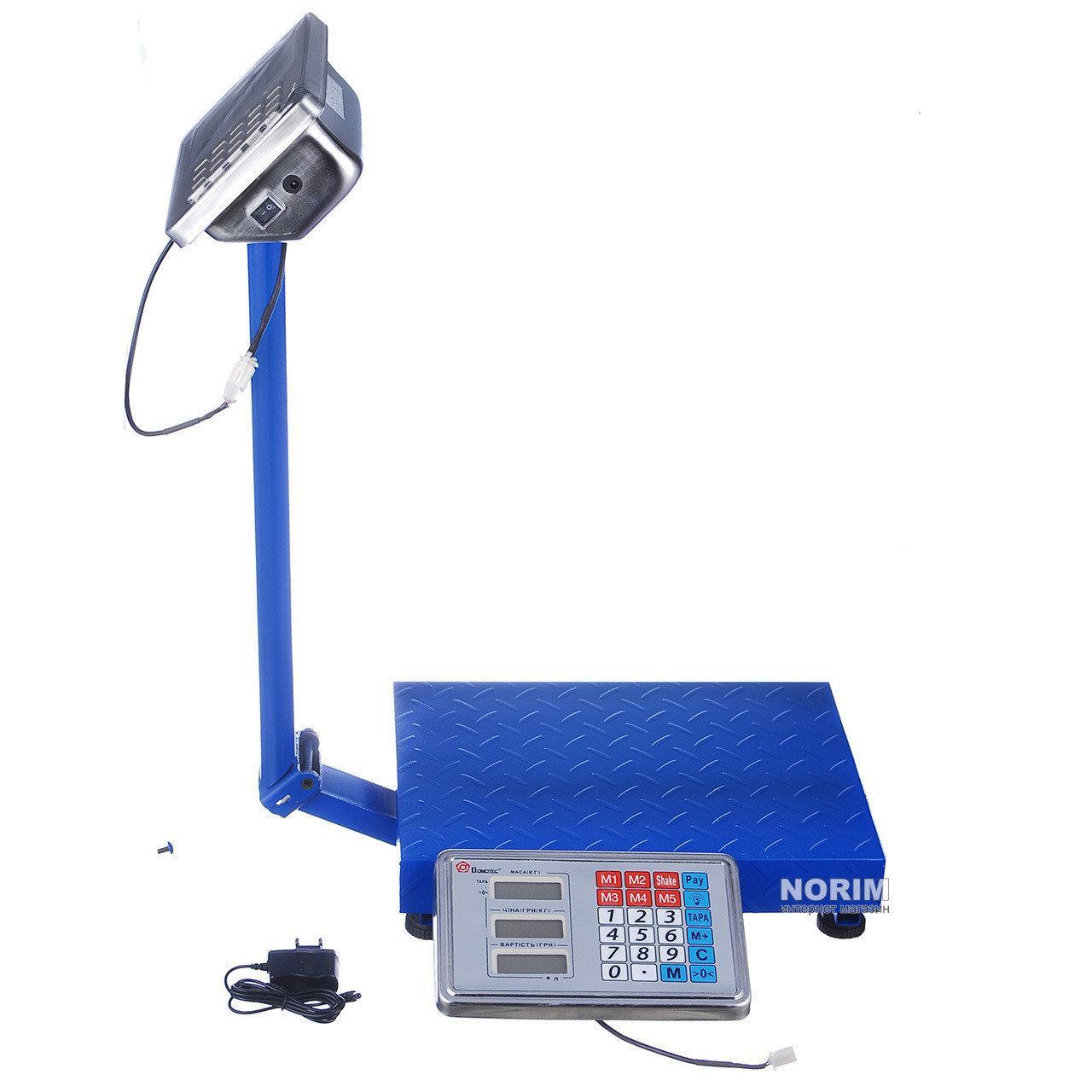 Усиленные весы до 150кг FOLD 30X40 усиленная платформа с металлической головой