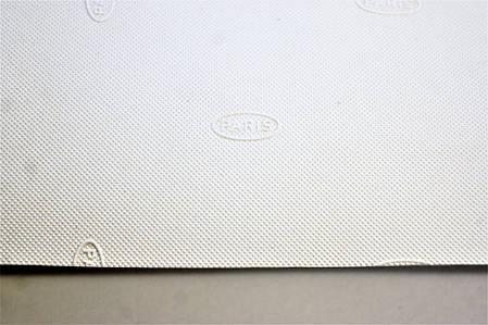 Резина подметочная TOPY PARIS   940*600 т.1,0 мм. цвет ,белый, фото 2