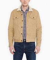 Зимняя вельветовая куртка Levis Trucker - Chino