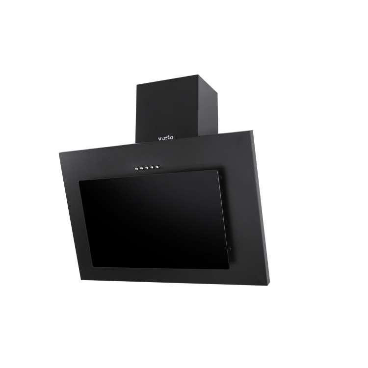 Вытяжка наклонная черная 60 см Ventolux TIVOLI 60 BK (700) PB