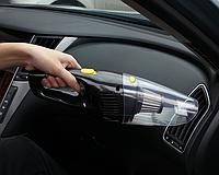 Автомобильный пылесос с проводом для прикуривателя 4 м, фото 3