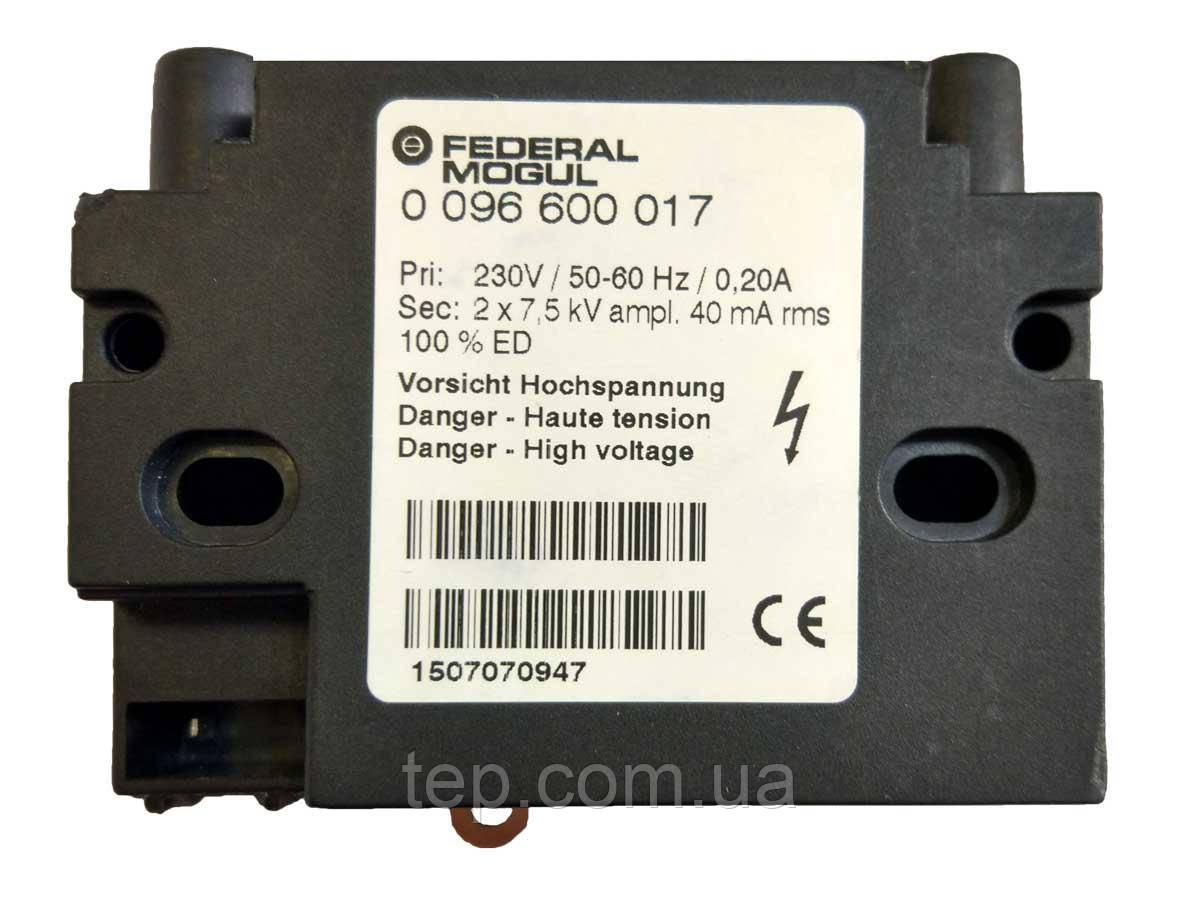 Трансформатор поджига Federal Mogul (BERU) 0096600017 2x7,5kV 40mA 100%