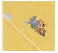 Детское махровое полотенце с капюшоном для купания Tega Safari 100x100 SF-009