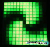 Светодиодная пиксельная панель настенная W-77-13*13-4, фото 1