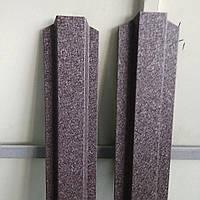 Штакетник для забора 8019 мат (темно коричневый) Strimex, фото 1