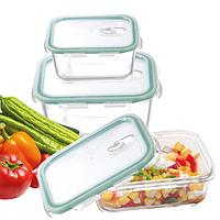 Набор пищевых контейнеров с крышкой S&T 3шт (арт.6020)