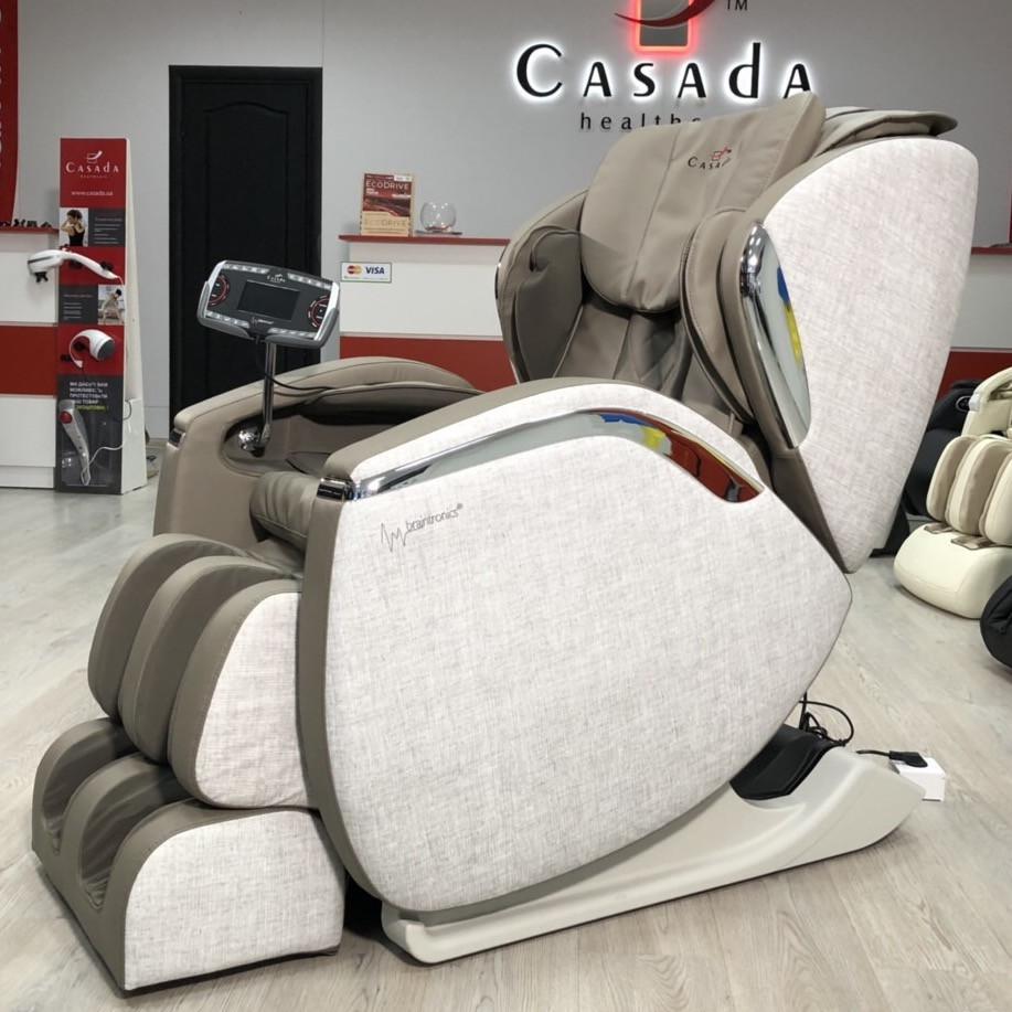 Массажное кресло Hilton III +Braintronics (PLATINUM)