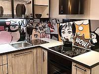Панель для кухни с рисунком