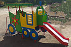 Горка  детская для улицы Паровоз, фото 4