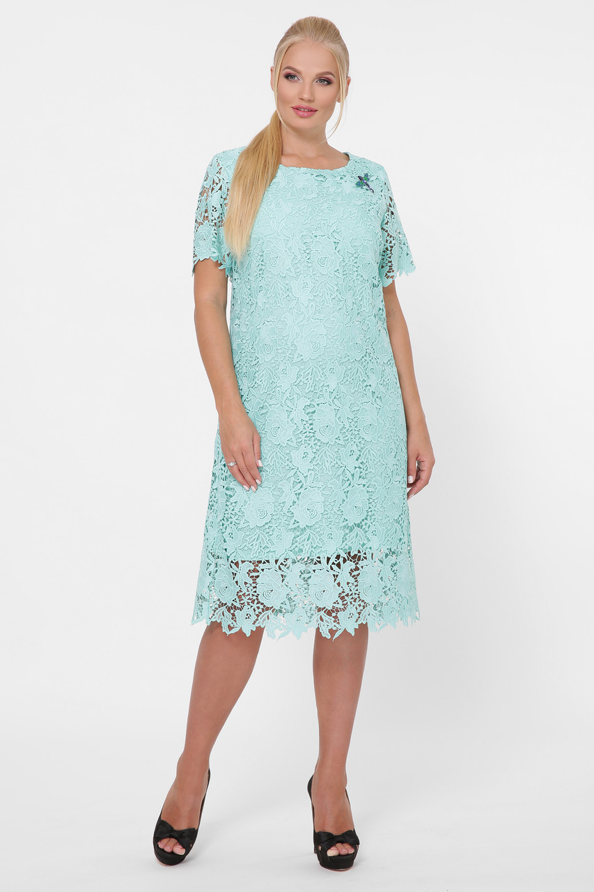 Красивое платье Элен мята