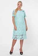Красивое платье Элен мята, фото 1