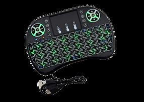 Беспроводная русская клавиатура с тачпадом NicePrice Rii mini i8