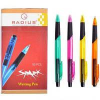 Ручка RADIUS «Spark» , корпус 6 цветов, синяя, 50 шт