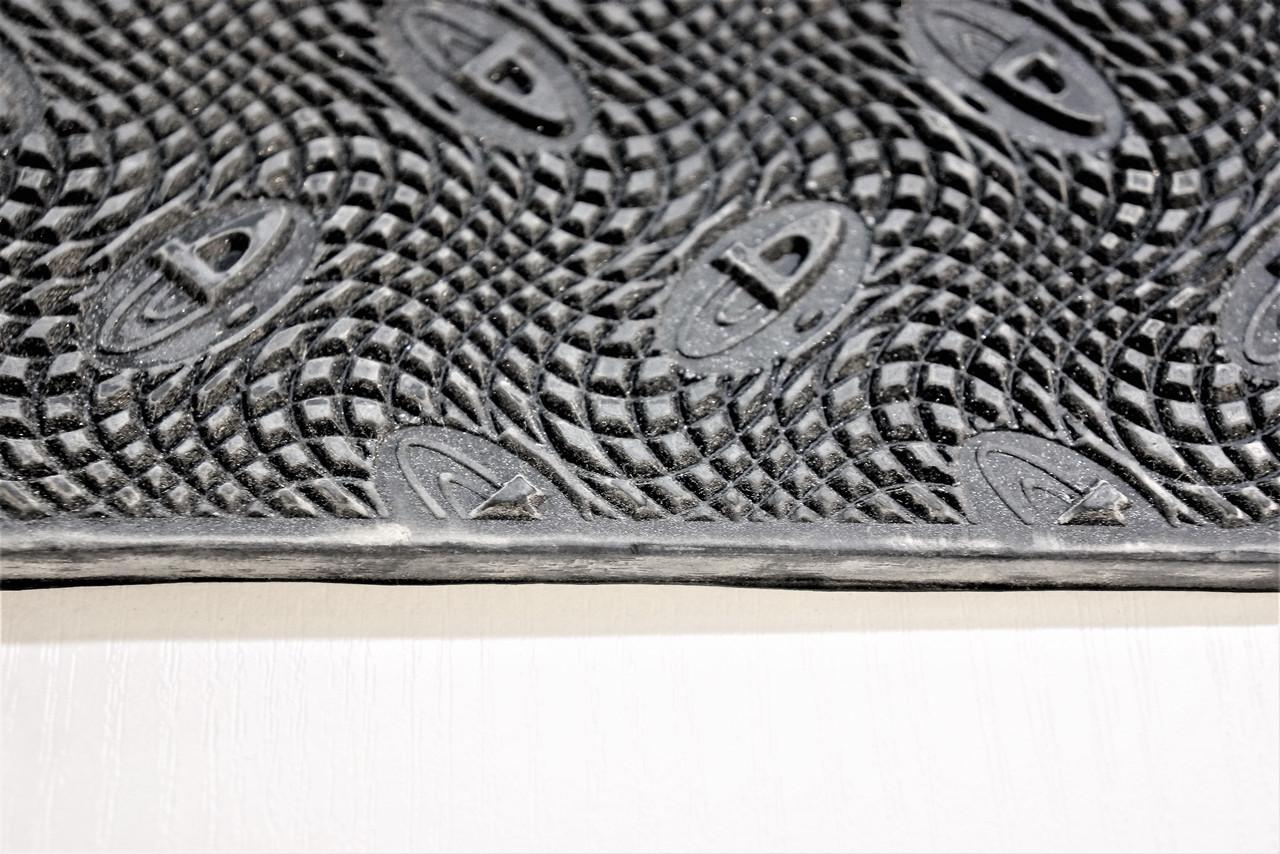 Резина подметочная GTO РИФ ЗИМА 500*500 т. 2 мм.