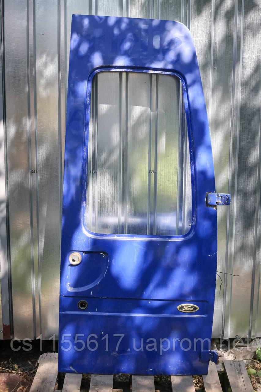 Дверь задняя левая голая б/у на Ford Transit год 1991-2000 (парус)