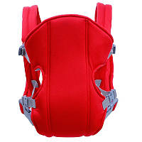 Слинг-рюкзак для переноски ребенка Baby Carriers EN71-2 Red