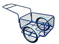 Велоприцеп грузовой(сетка) с прицепным устройством