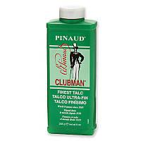 Тальк для тела супер-легкий белый Clubman Pinaud Finest Talc Ultra-Fin
