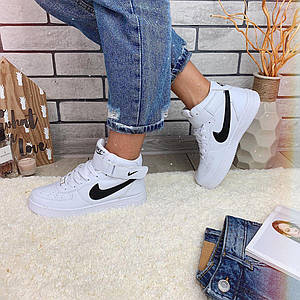 Кроссовки женские в стиле Nike Air Force белые
