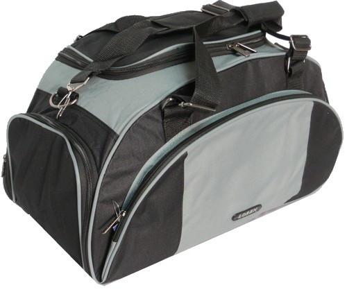 Небольшая спортивная сумка 22 л LOREN T10-600D серая