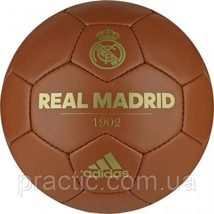Adidas Real Madrid 1902 Historic Football Ball, фото 2